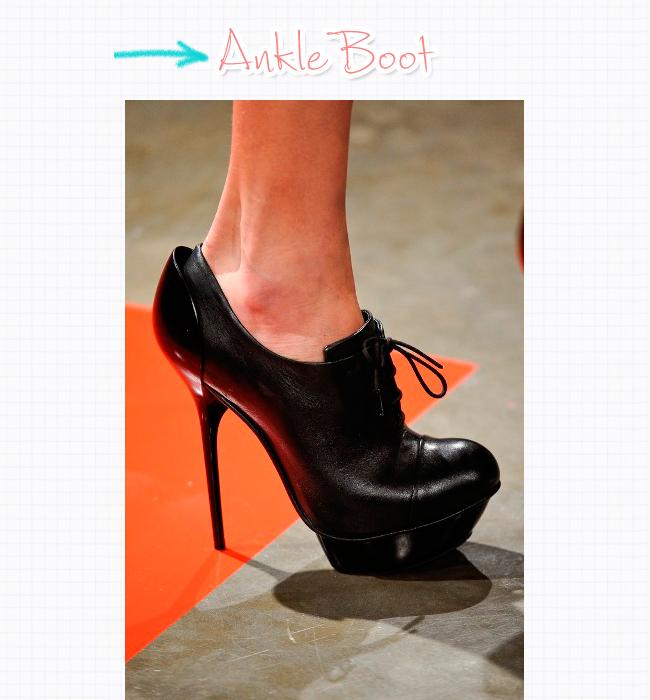 e8ff1d11e0 Ankle boot: pois é, ela aparece também na temporada mais quente do ano.  Tanto em tons escuros, como o preto e o marrom, quanto em tons suaves e  vibrantes.