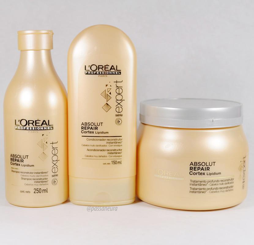 L'Oréal Expert Absolut Repair Cortex Lipidium | Resenha Completa - Passaneura